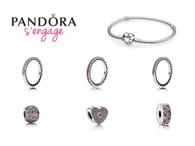 Pandora Octobre Rose 2017